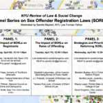 Spring 2015 Symposium: Panel Series on Sex Offender Registration Laws