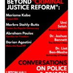 "Fall 2016 Colloquium: Beyond ""Criminal Justice Reform"": Conversations on Police & Prison Abolition"