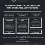 30th Anniversary of the American with Disabilities Act Symposium